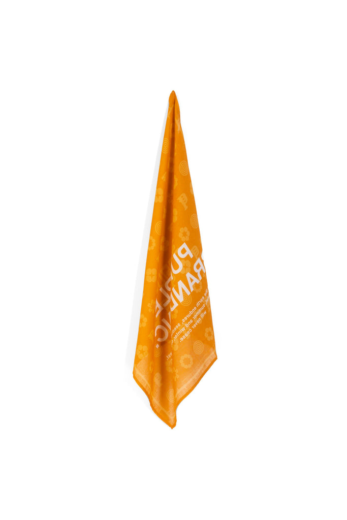 P903 - Monogram Bandana Orange