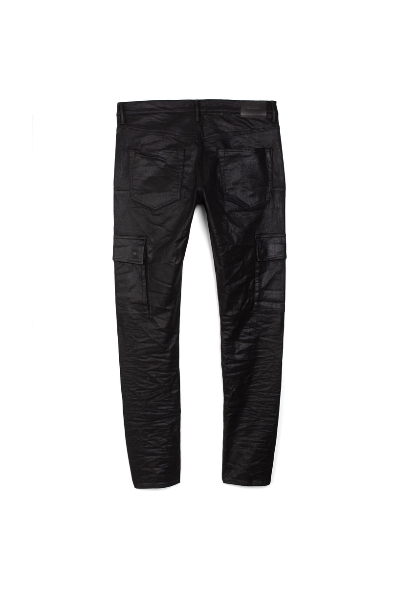 P002 MID RISE WITH TAPERED LEG - Tar Coated Cargo