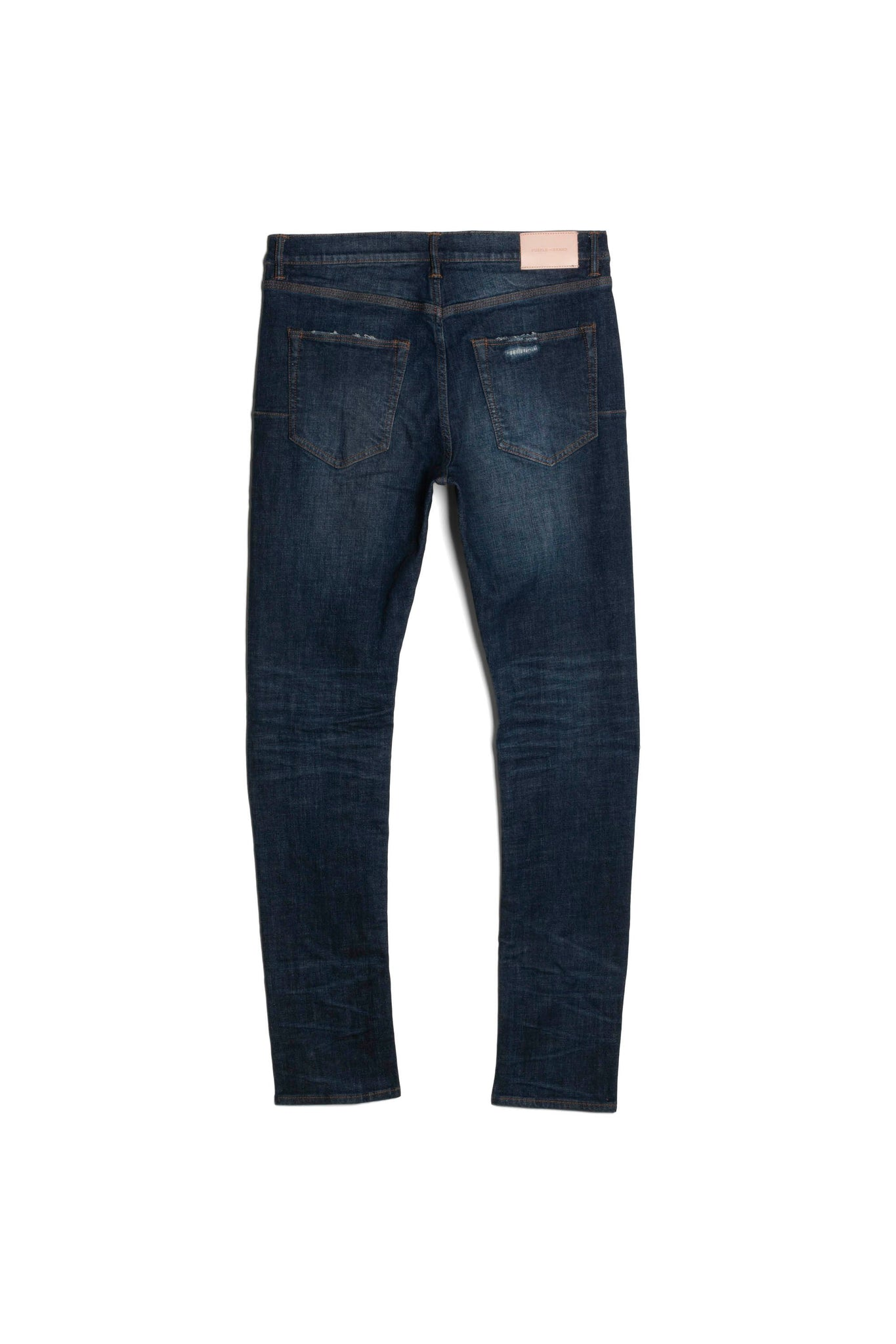 P001 LOW RISE WITH SLIM LEG - Black Indigo Laser Wash