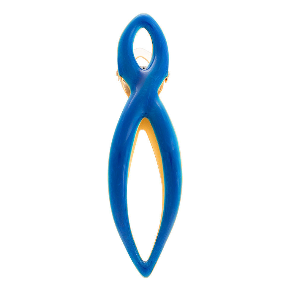 Power Clip Royal Blue with Gold Medium: New!