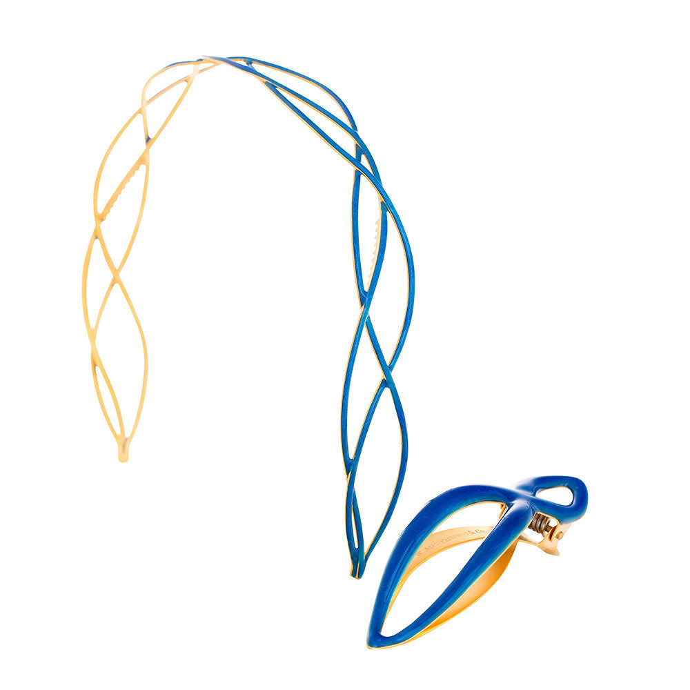 Urbanista Headband and Power Clip Royal Blue Set: New!