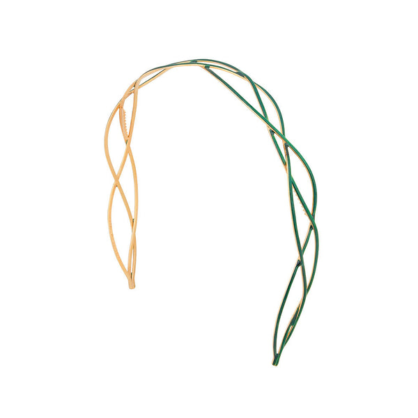 Urbanista Headband Emerald Green with Gold: New!