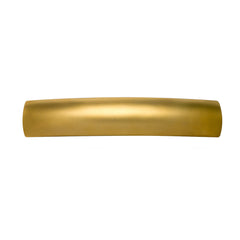 French Rectangle Barrette Gold Matte