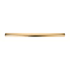 French Thin Rectangle Barrette Gold Matte