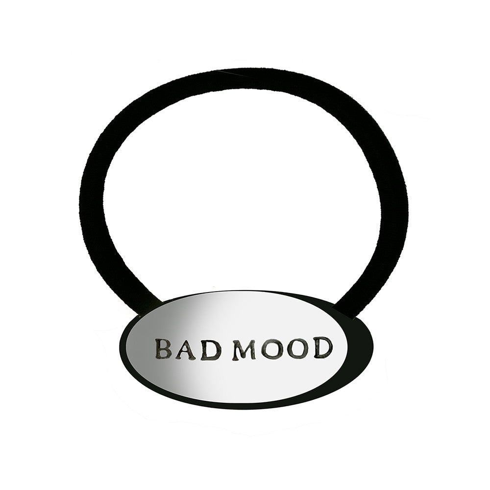 Bad Mood Pony Holder Silver Luminous