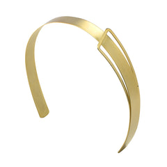 Modern Beauty Headband 2 Tone Gold: New!