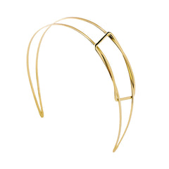 Beauty Revealed Headband 2 Tone Gold