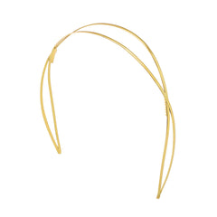 Off Duty Headband 2 Tone Gold