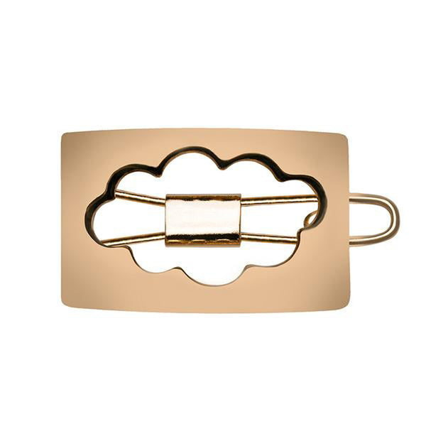 In the Clouds Hair Pin Gold Luminous