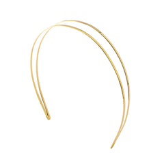 Coveted Headband 2 Tone Gold