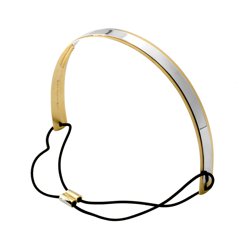 Sporty Lux Headband Gold/Silver