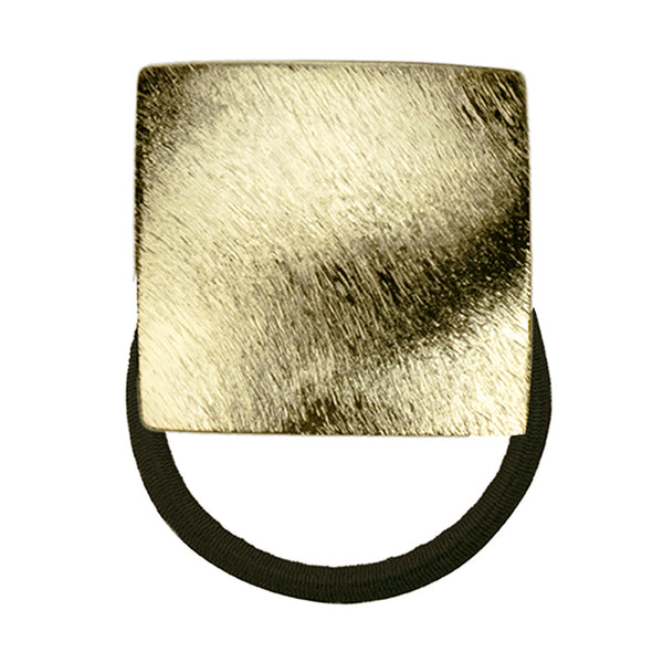 Instant Cool Square Pony Holder Shaved Gold