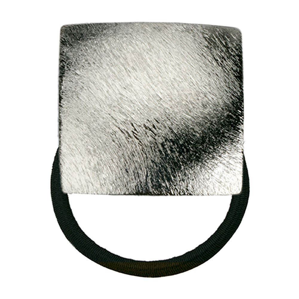 Instant Cool Square Pony Holder Shaved Silver