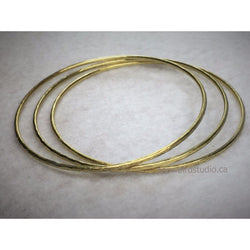 Bangles In Brass - Snowbird Studio