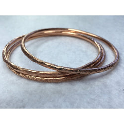 Bangles In Copper - Snowbird Studio