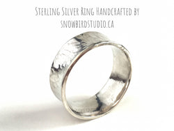 Sterling Silver Ring - Snowbird Studio