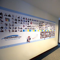 Bandwidth Wall Decal