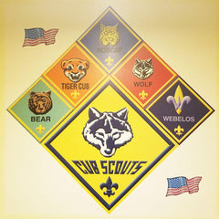Cub Scouts Wall Decal