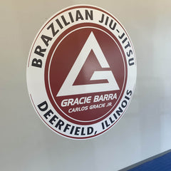 Gracie Barra Jiu-Jitsu Wall Decal