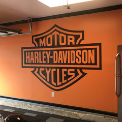 Harley Davidson Motorcycles Wall Decal
