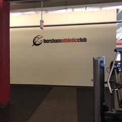Horsham Athletic Club Main Wall Logo