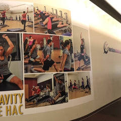 Horsham Athletic Club Main Wall Decal