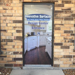 Innovative Surfaces Door Decal