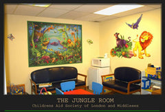 Customer Hospital Jungle Room