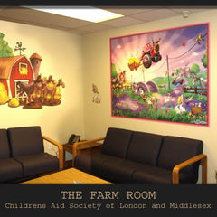 London Children's Hospital Farm Room Wall Decals