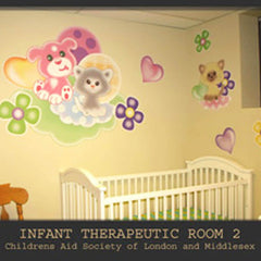London Children's Hospital Infant Room Wall Decals