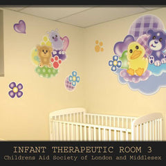 London Children's Hospital Therapeutic Room Wall Decals