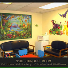 London Children's Hospital Jungle Room Wall Decals