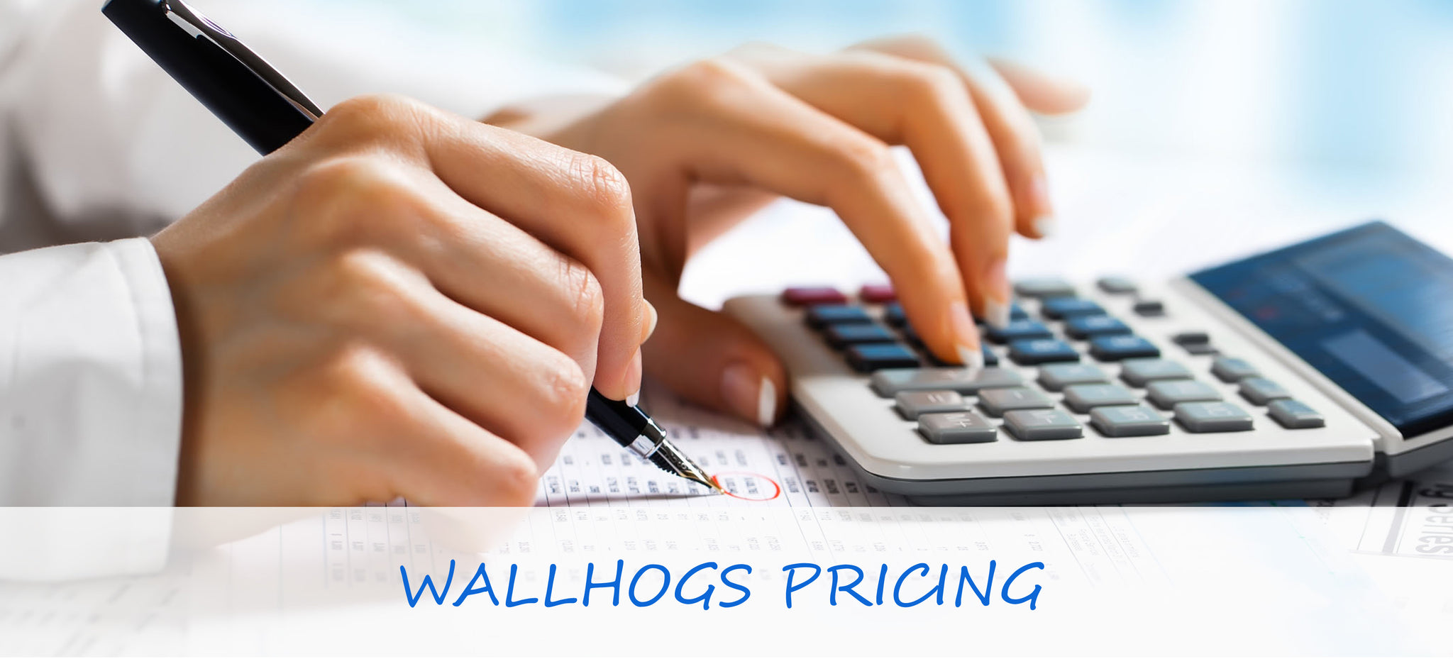 Wallhogs Pricing & Sizes