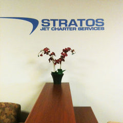 Stratos Jet Charter Services Wall Decal
