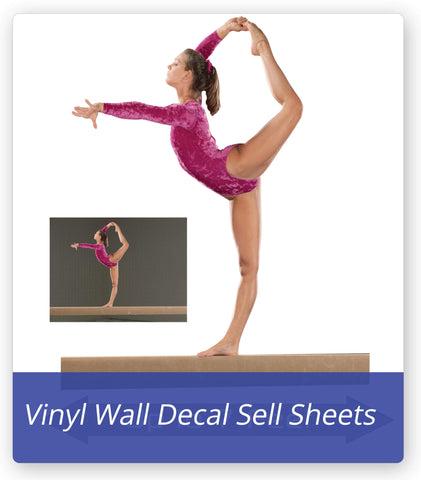 Wallhogs Custom Vinyl Wall Decal Sell Sheet