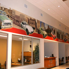 Toyota Showroom Wall Mural