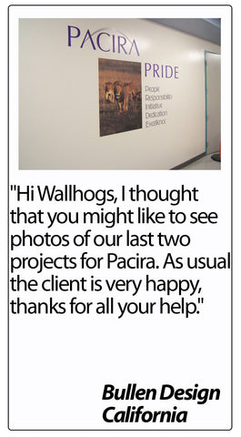 Wallhogs Customer Testimonial #49