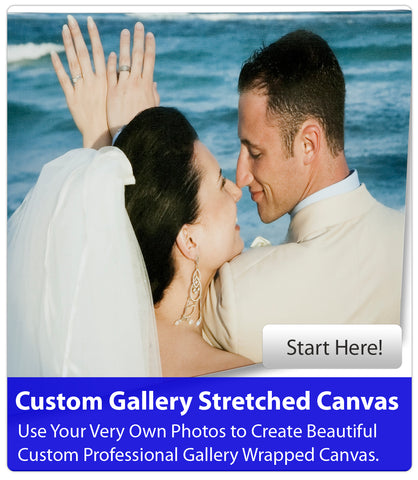Wallhogs Custom Gallery Stretched Canvas
