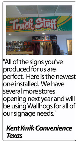 Wallhogs Customer Testimonial #48