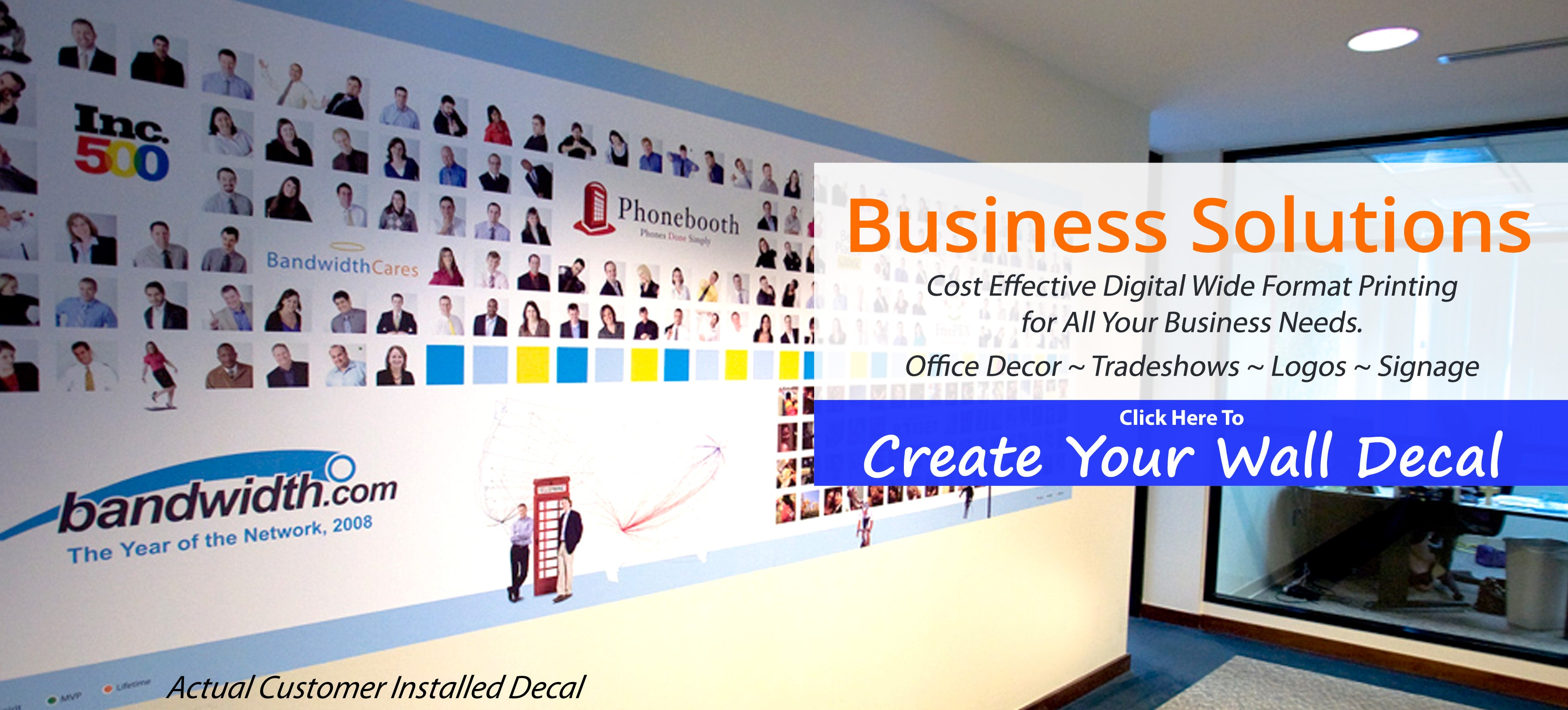 Business Wall Decal Solutions