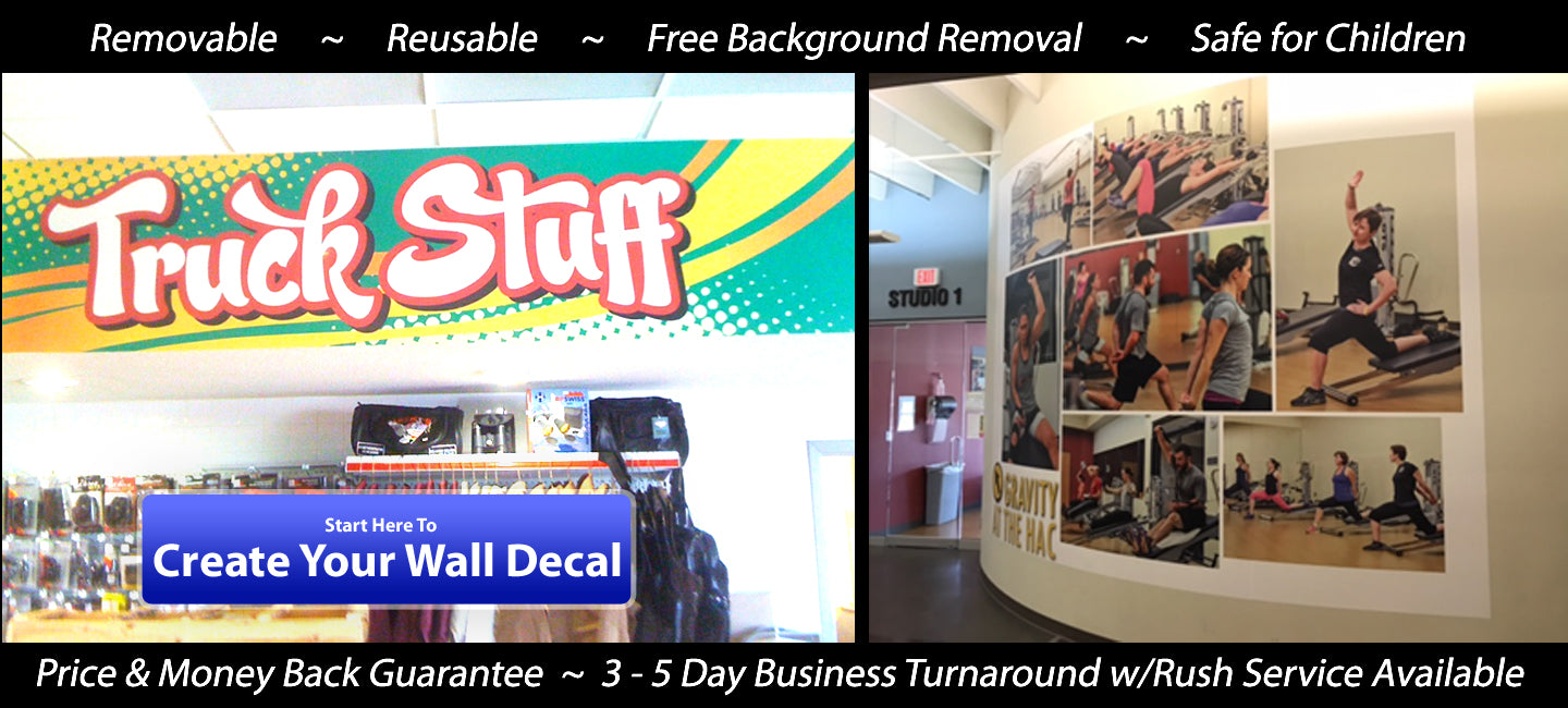 Click Here to Place Your Wall Decal Order