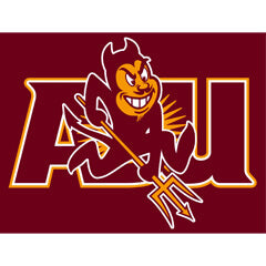 Wallhogs has Produced Numerous Decal Signs for Arizona State University