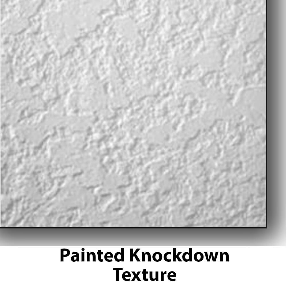 Photo-Tex EXS Fabric Works on Painted Knockdown Surfaces