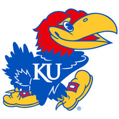 Wallhogs has Produced Numerous Decal Signs for University of Kansas