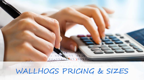 Wallhogs Product Pricing & Sizes