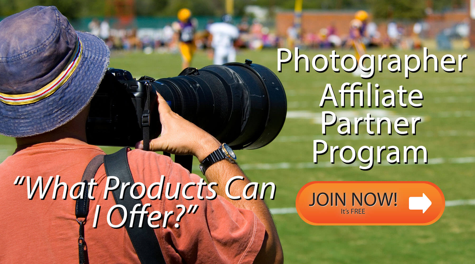 What Products Do I Sell In the Wallhogs Photographer Affiliate Partner Program Enrollment