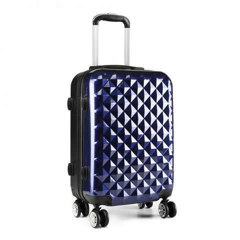 "Soft Shell Hand Luggage Suitcase - 20"" for sale - Woodcock and Cavendish"