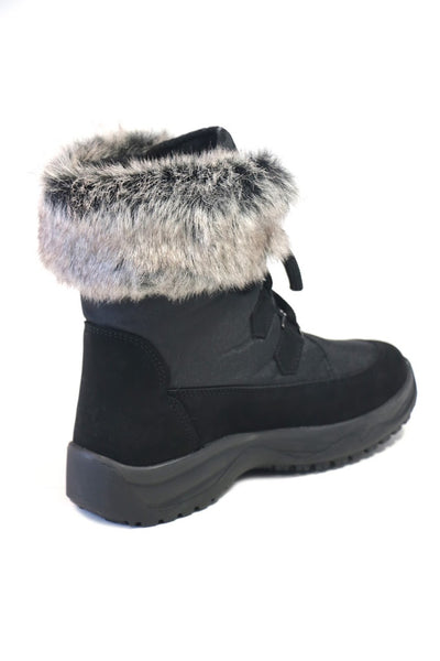 Victoria Black Winter Boots - Woodcock and Cavendish