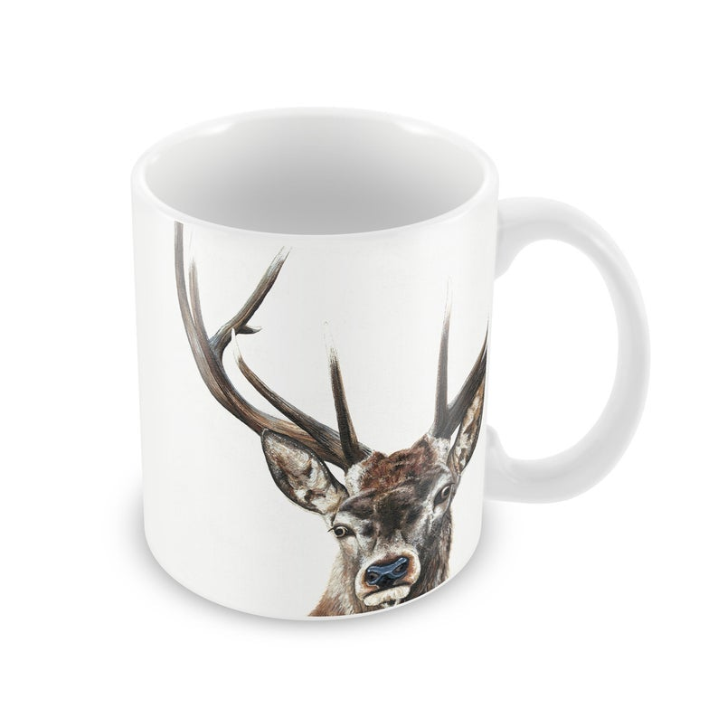 Handmade Stag Mug - Woodcock and Cavendish