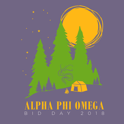 A-Phi-O Night Camp Art